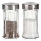 Набор для специй (соль, перец) без подставки Luxstahl [916]