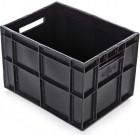 Ящик финпак (для пакетов с молоком) 400х300х280 мм сплошной [ям-280]
